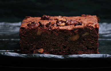 Recept: gevulde noten brownie