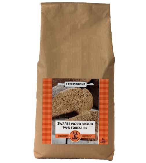 Bakers@Home - All-in-mix - zwarte woud brood