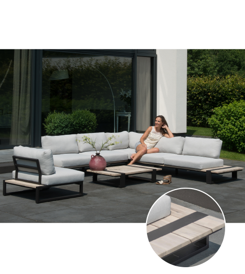 4 Seasons Outdoor - loungeset Duke