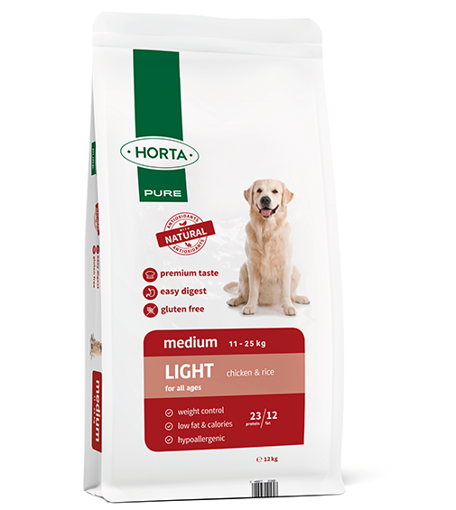 Horta PURE - Medium Light - Chicken&Rice - 12kg
