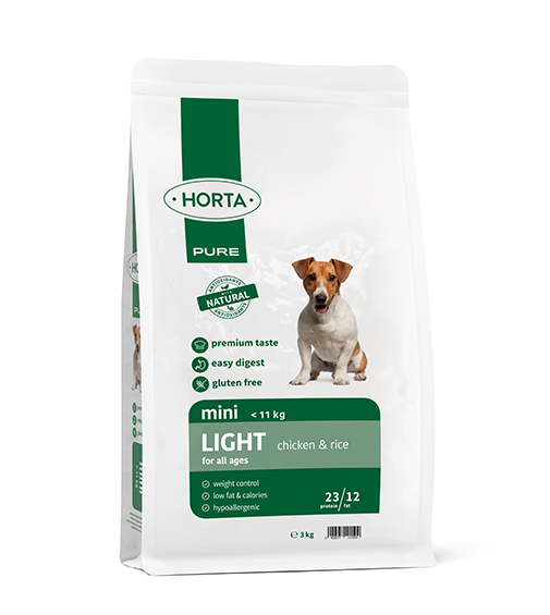 Horta PURE - Mini Light - Chicken&Rice - 3kg