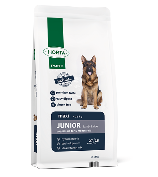 Horta PURE - Maxi Junior - Lamb&Rice - 12kg
