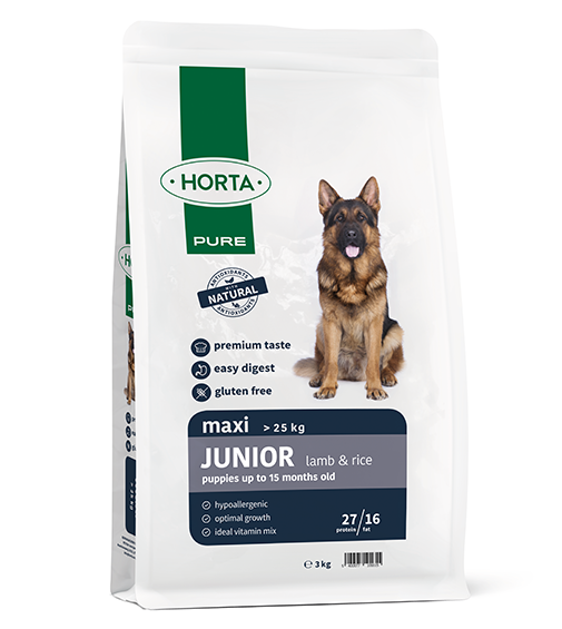 Horta PURE - Maxi Junior - Lamb&Rice - 3kg
