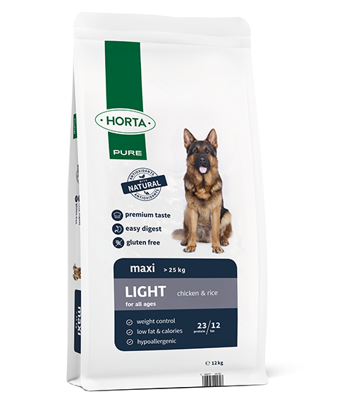 Horta PURE - Maxi Light - Chicken&Rice - 12kg