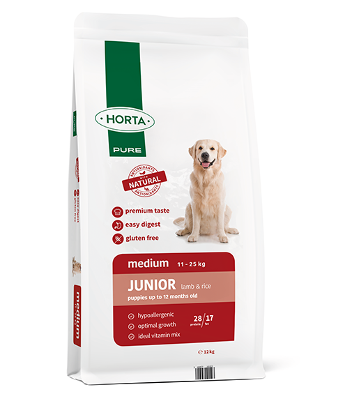 Horta Pure - Medium Junior - Lamb&Rice - 12kg