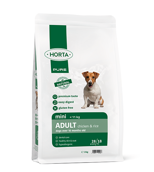 Horta Pure - Mini Adult - Chicken&Rice - 3kg