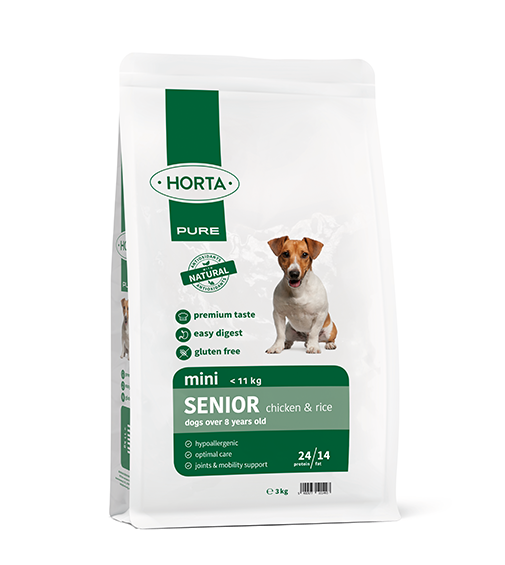 Horta PURE - Mini Senior - Chicken&Rice - 3kg