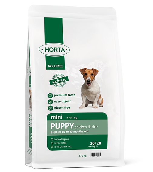 Horta Pure - Mini Puppy - 3kg