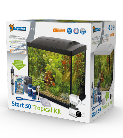 Superfish Start 50 Tropical Aquarium kit
